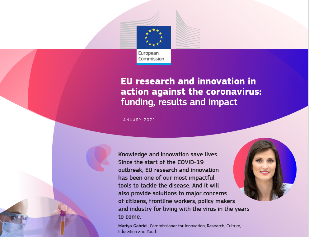 EU research and innovation in action against the coronavirus: funding, results and impact